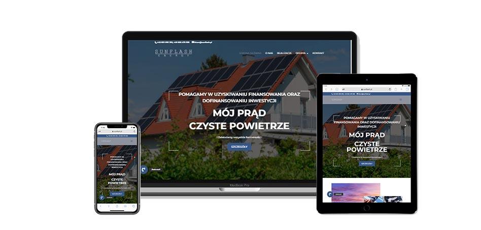 sunflash.pl - strona www